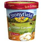 Ice Cream Flavor Faceoff-vote for our favorite: Stonyfield Creme Caramel