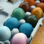 Dyeing Brown Eggs and other Easter Traditions