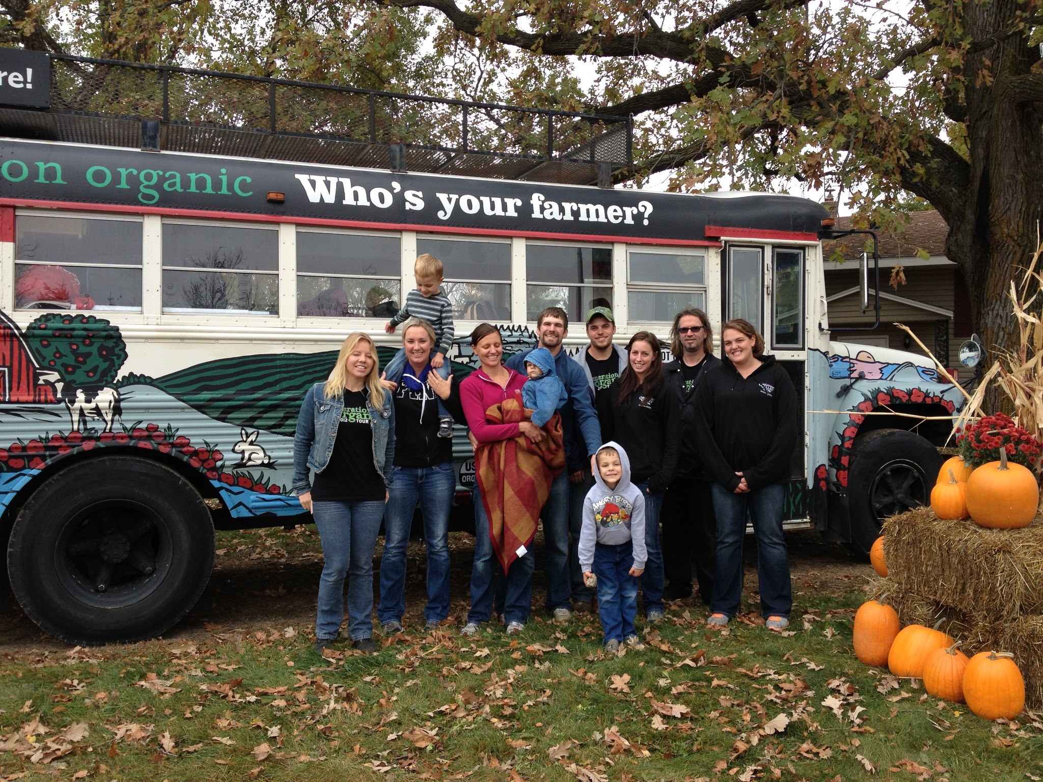 Organic Valley Gen-O bus tour