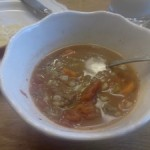 Super Storm Beef and Barely Soup Recipe