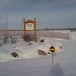 Snowmobiles Trails in Rural Areas