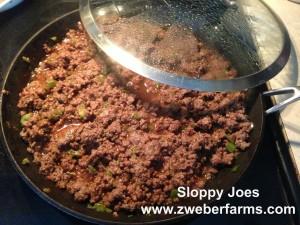 sloppy joe recipe, ground beef recipe, beef for sale, minnesota, mn, minneapolis, food blog, organic, grass fed, humane, family farm