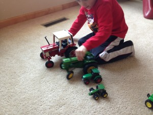 Farm lesson activities via Zweber Farms, tractors, preschool, kindergarten, free