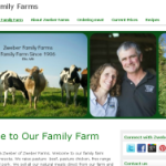 Zweber Farms Website-New Look