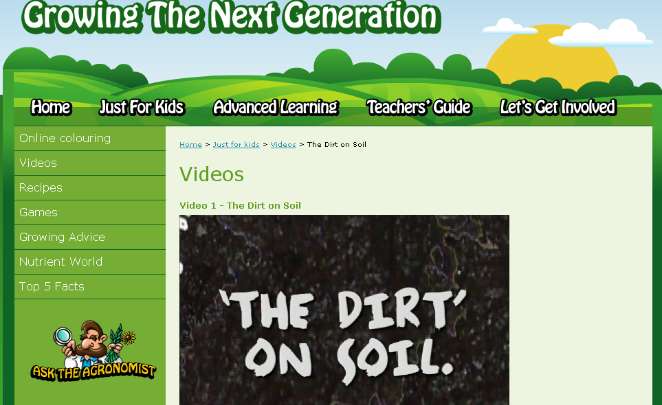 Earth day activities for kids soils zweber family farms for What is soil for kids