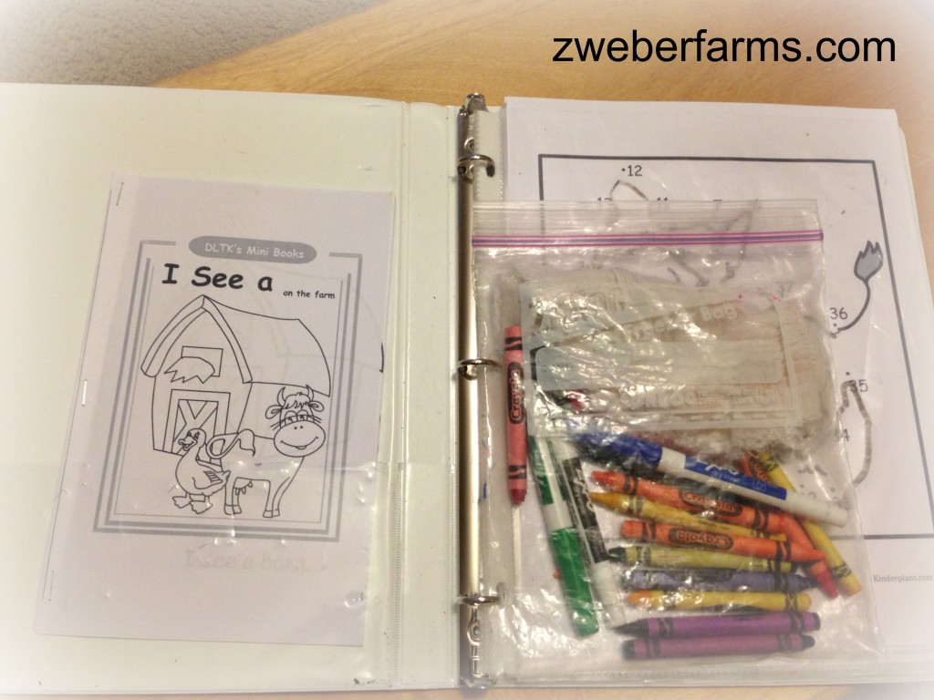 travel book for kids, farm theme worksheet