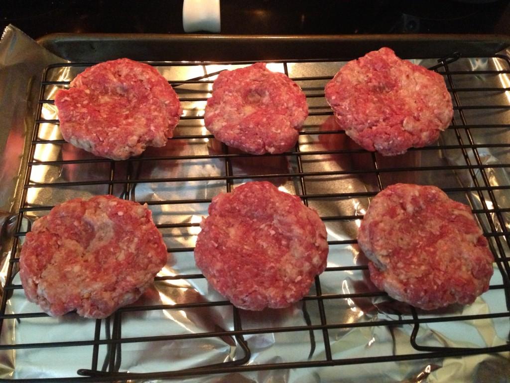 Italian burger recipe via zweberfarms.com