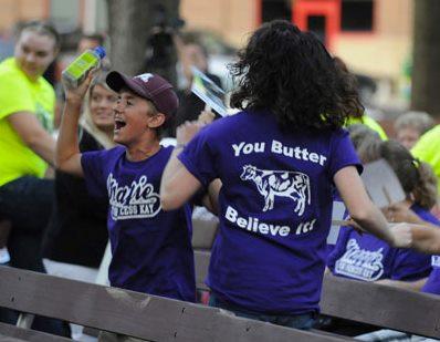 Princess Kay supporters photo via Maggie Stiles