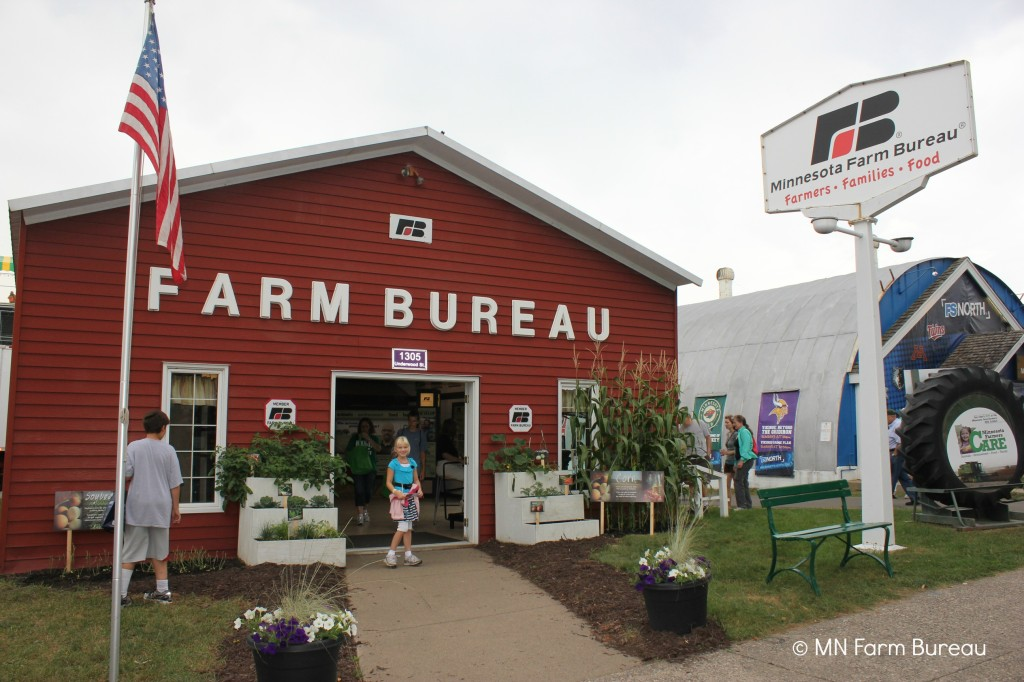 Minnesota Farm Bureau at Minnesota State Fair via zweberfarms.com