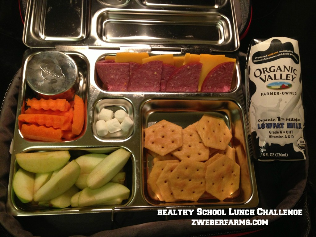 healthy school lunch challenge 9-3-13 via zweberfarms.com
