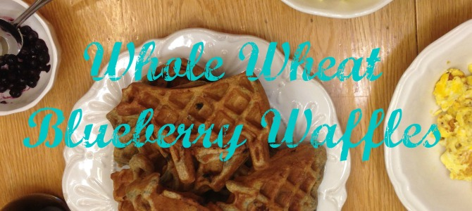 Whole Wheat Waffles-No Sugar Recipe