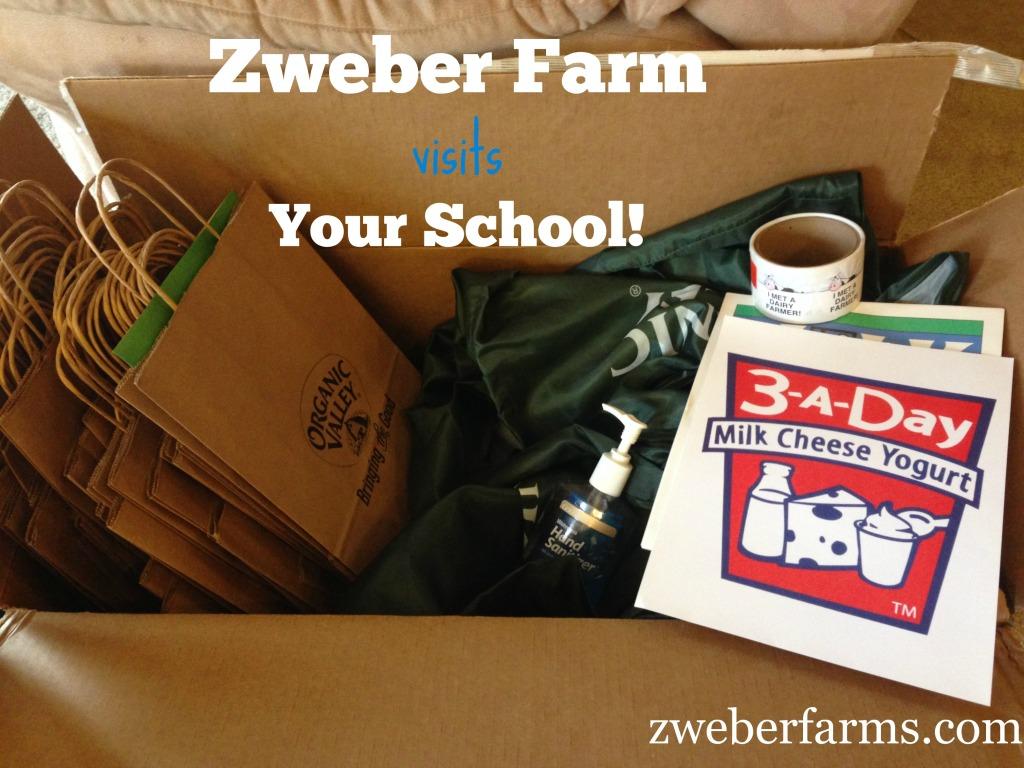 Farm visit to school